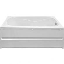 Акриловая ванна Bas Атланта 170x70 без гидромассажа