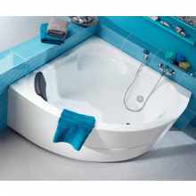 Акриловая ванна Santek / Сантек Карибы 140х140 без гидромассажа