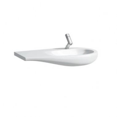Countertop washbasin, shelf right ILBAGNOALESSI ONE арт. 814973 (1200x500x165)