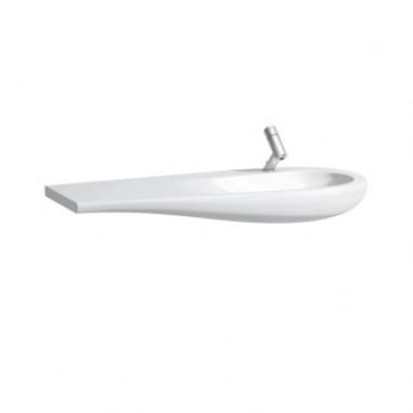 Countertop washbasin, shelf left ILBAGNOALESSI ONE арт. 814974 (1200x500x165)