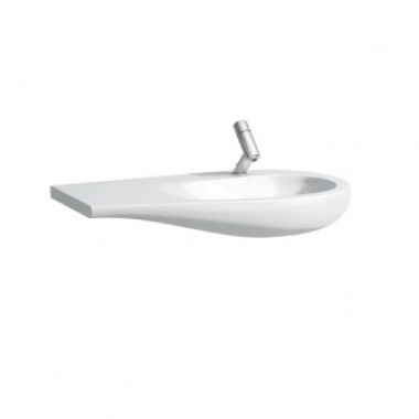Countertop washbasin, shelf left ILBAGNOALESSI ONE арт. 814976 (900x500x165)