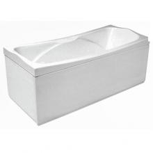 Акриловая ванна Santek / Сантек Корсика 180х80 без гидромассажа