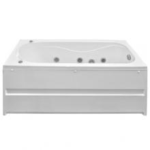 Акриловая ванна Bas Атланта 170x70 с гидромассажем