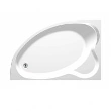 Акриловая ванна Aquanet Mayorca 150x100