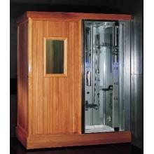 Душевая кабина гидромассажная сауна EAGO DS201F3 R