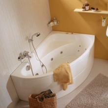 Акриловая ванна Santek / Сантек Гоа 150х100 без гидромассажа
