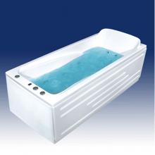 Акриловая ванна Bach Марианна на каркасе со сливом переливом без гидромассажа