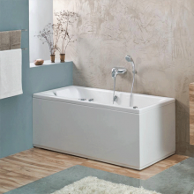 Акриловая ванна Santek / Сантек Монако 150х70 без гидромассажа