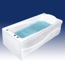 Акриловая ванна Bach Виктория на каркасе со сливом переливом без гидромассажа.