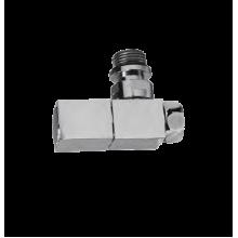 Соединение с вентелем 1/2 х 3/4  ш/г (квадратный)