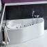 Акриловая ванна Santek / Сантек Ибица XL 160х100 без гидромассажа