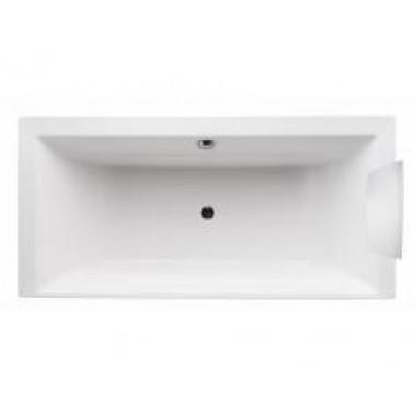 Jacob Delafon EVOK – Система гидромассажа Serenity+ - прямоугольная акриловая ванна, спинные форсунки справа (Е5SE235R)