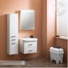"Зеркало-шкаф ""Америна 60"" левый"